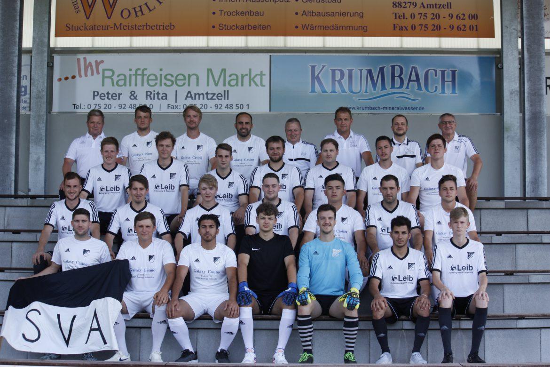 Aktive Mannschaften SV Amtzell Saison 18/19