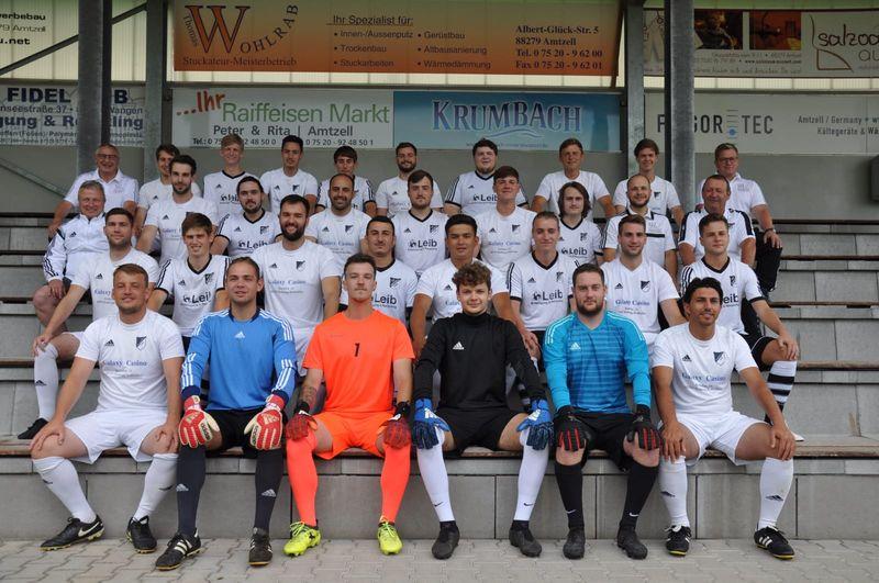 Aktive Mannschaften SV Amtzell Saison 19/20